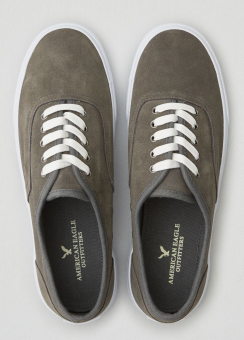 [Men] Suede lace up