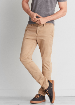 [Men] Skinny chino - flex