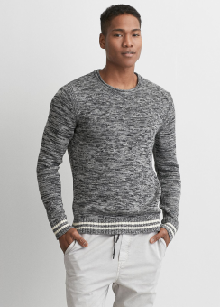 [Men] Roll neck crew