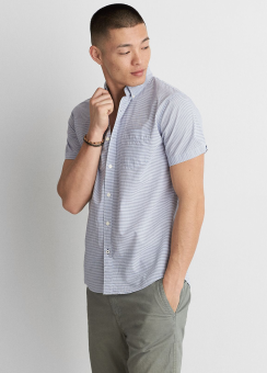 [Men] Poplin Stripe