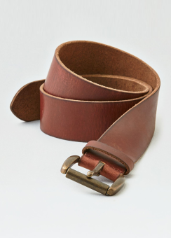 [Men] 42mm leather belt