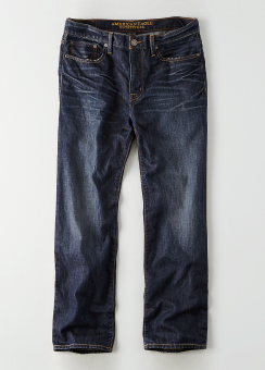 [Men] Relaxed taper dark wash