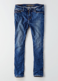 [Men] Skinny tinted medium wash