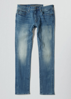 [Men] Slim taper medium wash