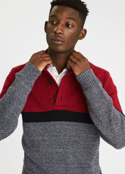 [Men] Mock neck
