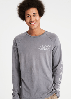 [Men] 3573 Ls raglan tee w int lockerloop