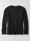 [Men] Ls seriously soft pima crew-neck tee