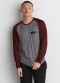[Men] LS saddle raglan