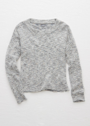 [Aerie] Easy cropped pullover