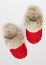 [Aerie] Cable knit slipper