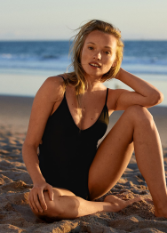 [Aerie] One piece strappy bead side