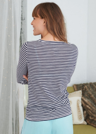 [Aerie] Stripe real soft tee