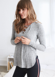 [Aerie] Snit hoodie with side slits