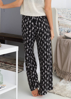 [Aerie] Easy printed pants