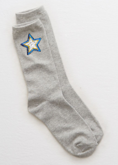 [Aerie] Sequin boot sock