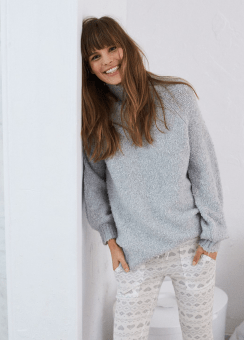 [Aerie] Puff sleeve pullover
