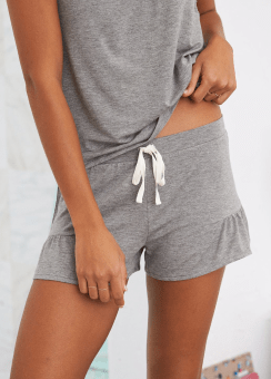 [Aerie] Ruffle sleep short