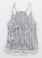 [Aerie] Fringe hem sleep tank top