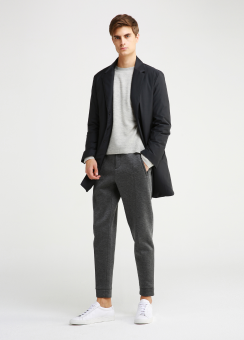 LUX WOOL DOWN TAILORED COAT