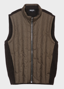 POLY HYBRID DOWN VEST OUTER