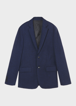 LOOP YARN WOOL JACKET