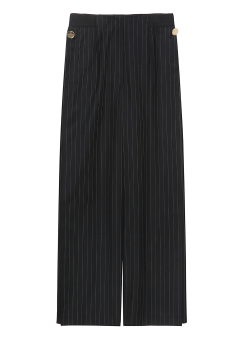 Stripe wide trouser