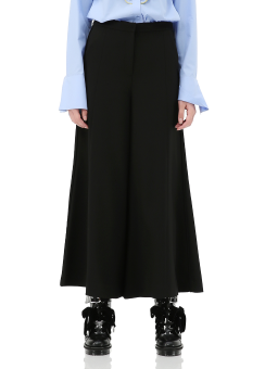 Wide flare trouser pants
