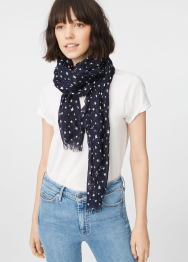 [Women] Senella star scarf