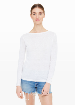 [Women] Lana button sweater