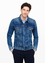 [Men] Denim jacket