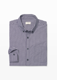 [Men] Slim BD gingham