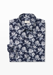 [Men] Slim mc paisley floral