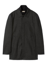 [Men] Wool crepe trench