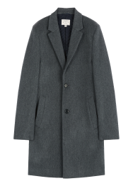 [Men] Double stretch coat
