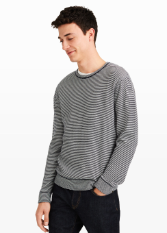 [Men] Feeder stripe crew