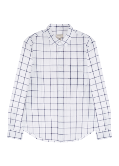 [Men] Slim BD Crinkle plaid