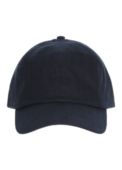 [Men] Textured cttn baseball cap