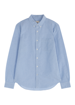 [Men] Oxford solid shirt
