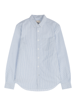 [Men] Oxford stripe shirt