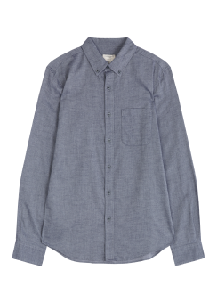 [Men] Flannel twill shirt
