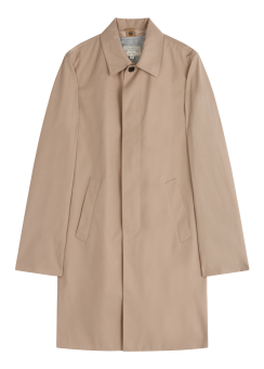 [Men] Cotton like poly mac trench w/lining
