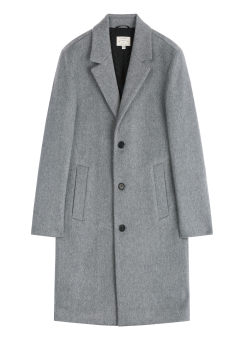 [Men] Cashmere blend coat
