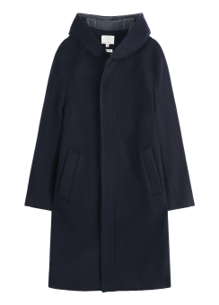 [Men] Hooded zip coat