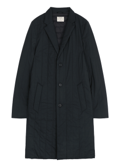[Men] Quilted wool down chesterfield coat