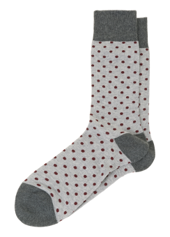 [Men] Melange dot sock