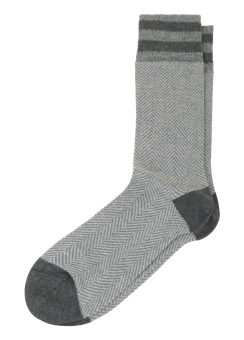 [Men] Herringbone sock