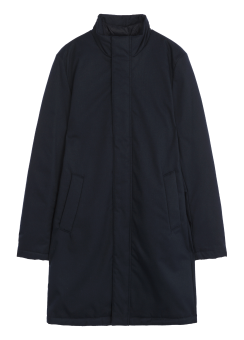 [Men] Wool high-neck downcoat
