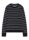 [Men] LS Slub stripe knit
