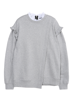 Unbalanced sweatshirt