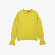 PUFF SLLEVE PULLOVER